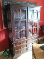 Buffet antique- Antique Buffet- Vaisselier- Wood Cabinet