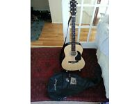Martin Smith acoustic guitar For Sale. Never used, priced to sell!