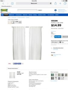 IKEA VIVAN curtains