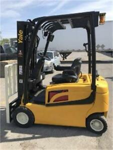 Yale forklift electric ERP040 3500 lbs – 2014 Lift truck Sold