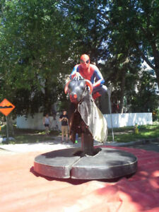 Company party fun! - Mechanical Bull and party rentals Strathcona County Edmonton Area image 1