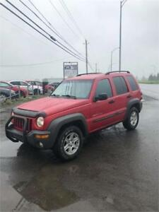 2003 Jeep Liberty Sport SUPERBE CONDITION  4X4 438-887-6355