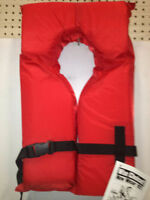 KEYHOLE LIFE JACKETS RED - ADULT AND YOUTH
