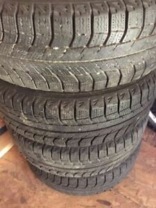 Winter TIRES rims Honda CIVIC MAZDA 3 5 6 TIRES 205/60R15 , 2ND