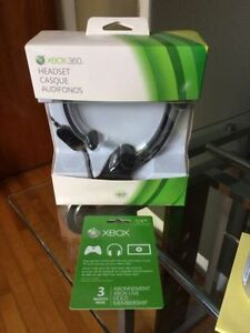 XBOX 360 Headset (NEW) & Gift Card (NEW)