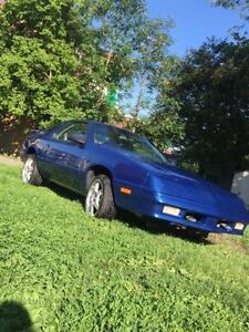 1991 Chrysler Daytona Coupe (2 door)