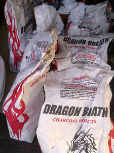 Charcoal - Dragon Breath All Natural Lump - 9.07kg (20 lbs) Kitchener / Waterloo Kitchener Area image 4