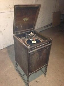 Old phonograph