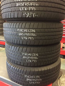 """XTREME AUTO 16""""Tires USED- GOOD AS NEW"""