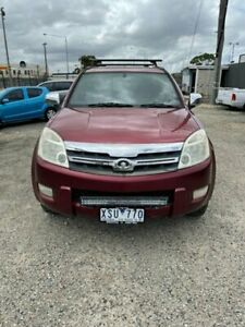 2010 Great Wall X240 CC6461KY (4x4) Red 5 Speed Manual Wagon Morwell Latrobe Valley Preview