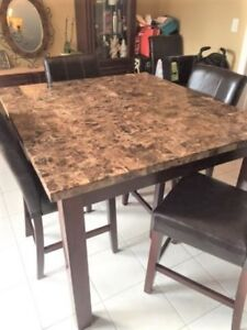 KITCHEN TABLE MARBLE DINING TABLE