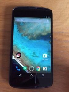 Mint condition Unlocked Nexus 4.