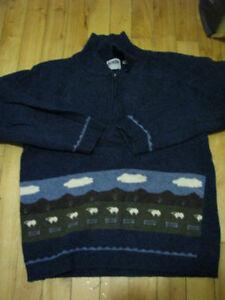 100% Merino wool sweater size small