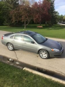 2008 Chevrolet Impala LT (low kms, safetied, sun roof)