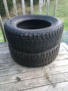 Two 215/65R16 Tires