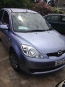 2005 Mazda 2 DY MY05 Upgrade Neo Blue 5 Speed Manual Hatchback Wentworthville Parramatta Area Preview
