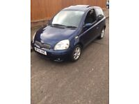 Toyota Yaris 2004, 1.3 Petrol with Sunroof and 3 Keys