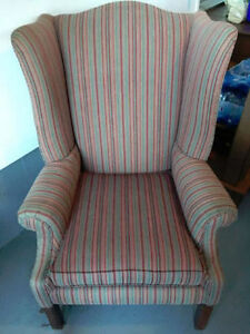 Wingback chair --REDUCED