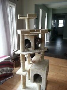 "65.2"" Cat Tree Condo Scratching Post.  In stock (new)"