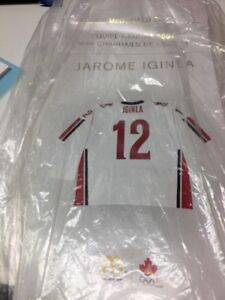 2006 Team Canada Mini Jersey, Jarome Iginla