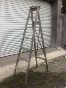Old ladder timber A frame Brunswick East Moreland Area Preview