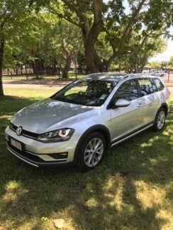 2016 Volkswagen Golf VII MY17 Alltrack DSG 4MOTION 132TSI Silver 6 Speed