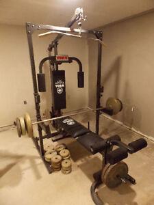 York home gym workout