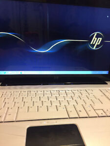 Hp Laptop (white in color)