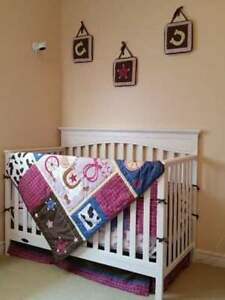 Cowgirl Crib Bedding