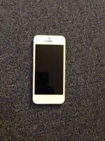 White iPhone 5 16 gb Rogers for $180