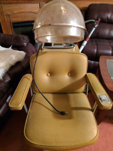 Vintage First lady chair hair dryer made in kitchener ontario
