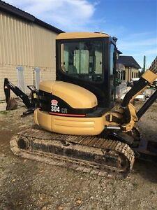 2009 Caterpillar 304CR Excavator