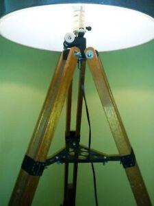 Nostalgic Telescope Tripod Adjustable Floor lamp - One of a Kind