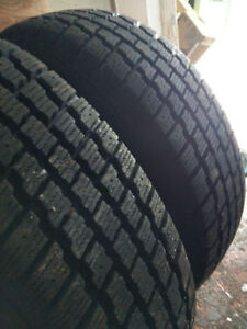 185 75 R14 winter tires on rims great in snow