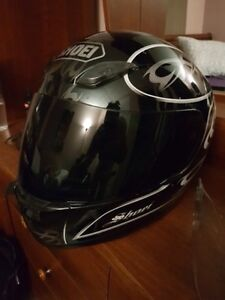 Shoie Helmet Size XS with extra visor and bag