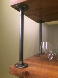 Industrial bar cart, shelves, mantles and coffee tables! Kitchener / Waterloo Kitchener Area image 2