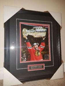 "Official NHL frames - 18"" x 15"" - Jonathan Toews"