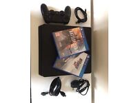 PS4 slim 500GB with battlefield 1 and need for speed rivals