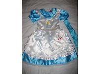 Disney Princess Dresses + others Age 4-6