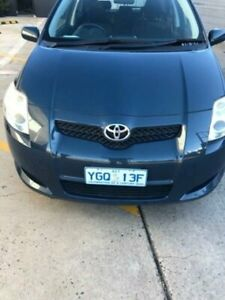 2008 Toyota Corolla ZRE152R Ascent Blue 6 Speed Manual Hatchback Fyshwick South Canberra Preview
