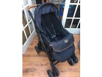 Special edition silvercross country club freeway chassis pushchair and pram 2in1, car seat & isofix