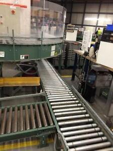 Lot de convoyeur Hytrol 24 pouces, comme neuf - Lot of Hytrol 24'' roller conveyor, like new