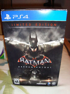 LIMITED EDITION BATMAN ARKHAM KNIGHT GAME BRAND NEW FOR PS4
