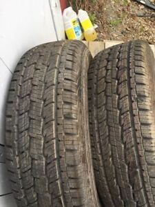 ( 2 ) 245 70 17 General HTS tires