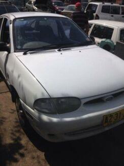 1997 Ford Festiva WD GLi White 3 Speed Automatic Hatchback