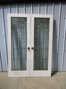 2 Used French Doors $150.00 set