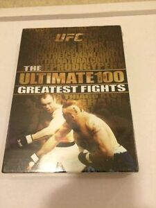 UFC THE ULTIMATE 100 GREATEST FIGHTS 8 DISC SET NEW SEALED. 2009