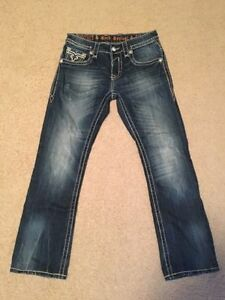 Rock Revival mens designer jeans