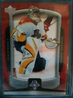 ROBERTO LUONGO HOCKEY CARD PANTHERS GOALTENDER ROOKIE UPDATE