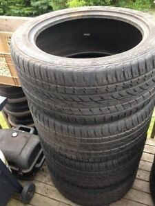 Four 295/40R20 All Season Tires